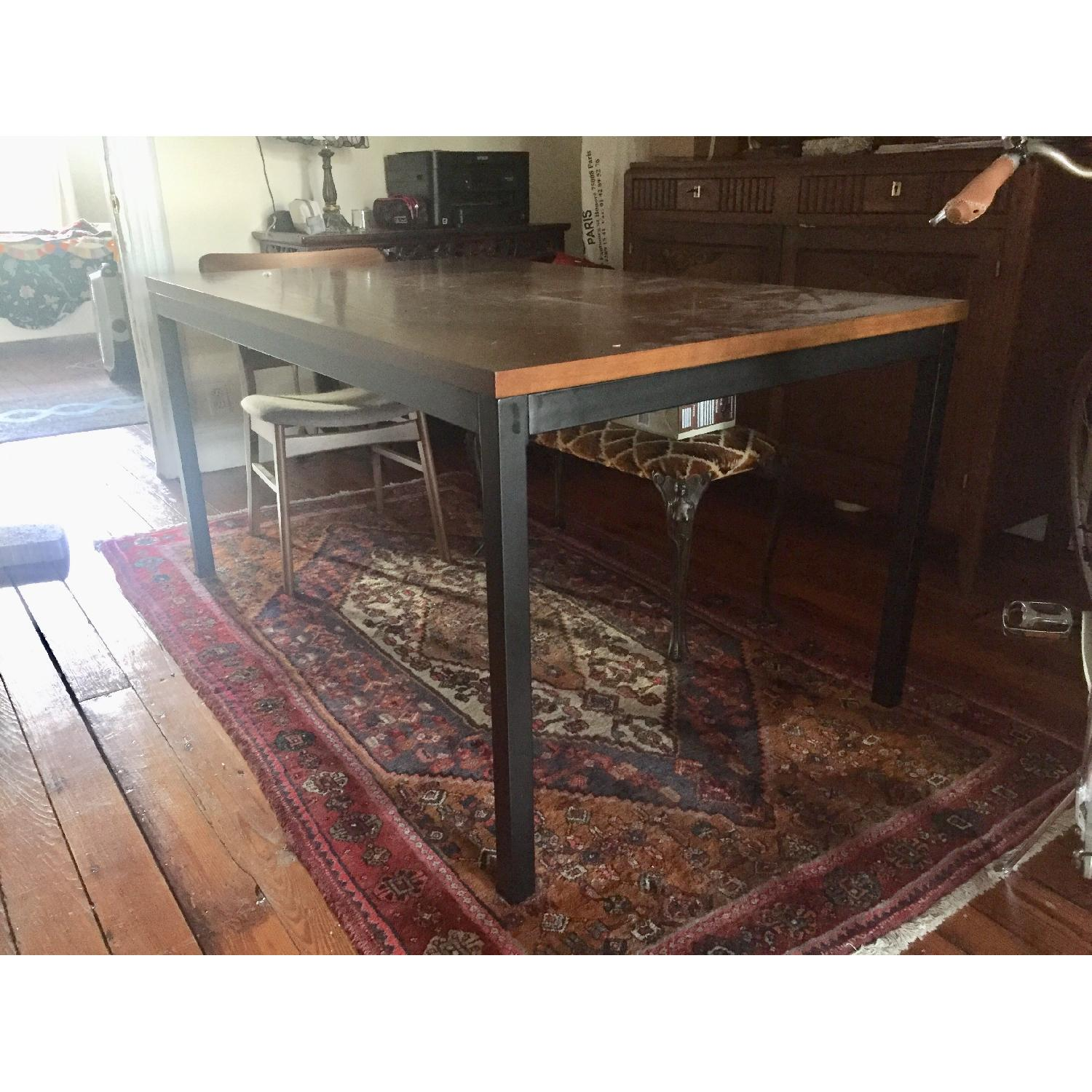 Target Mixed Material Dining Table - image-1