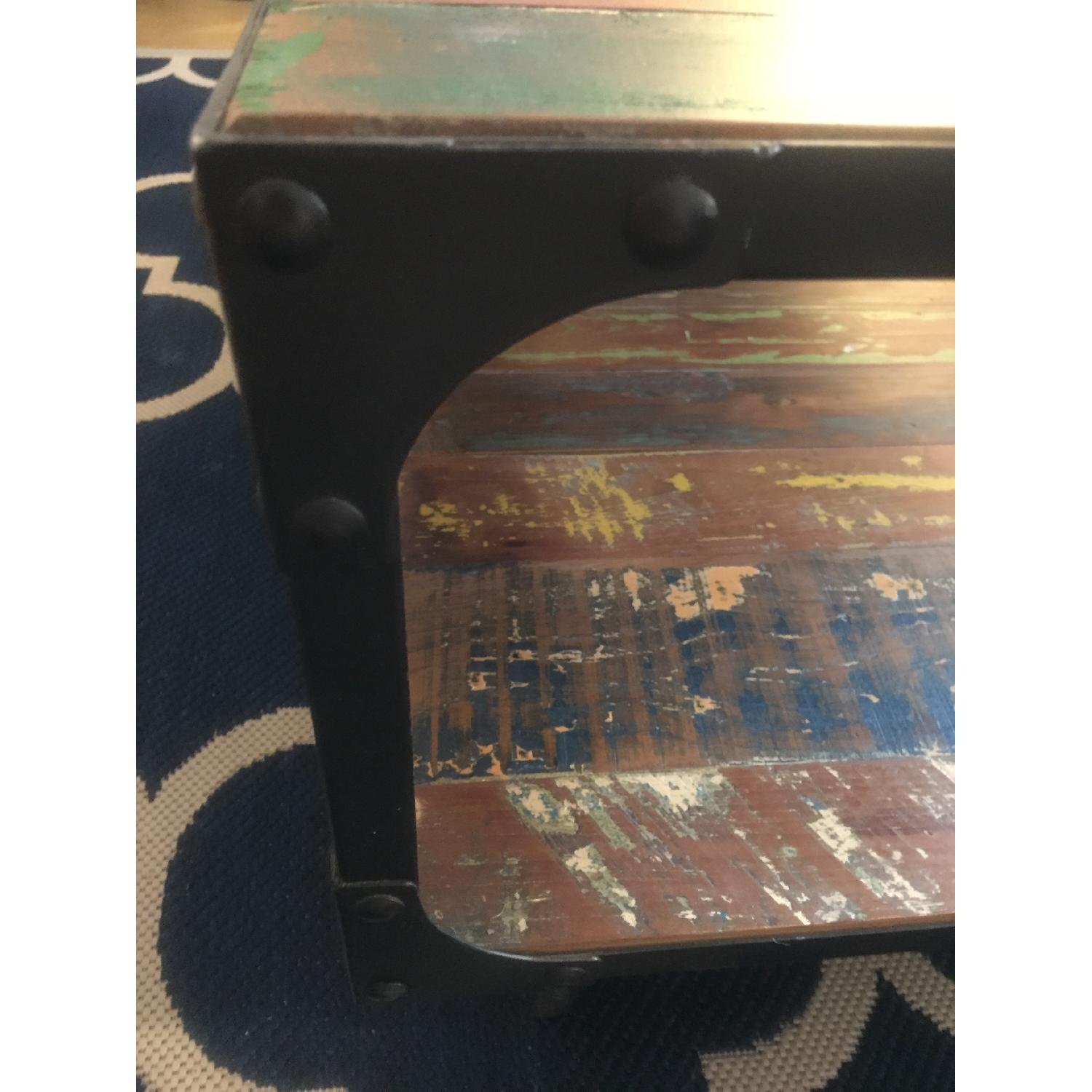 Sterling Place Wood/Iron Frame Coffee Table - image-12