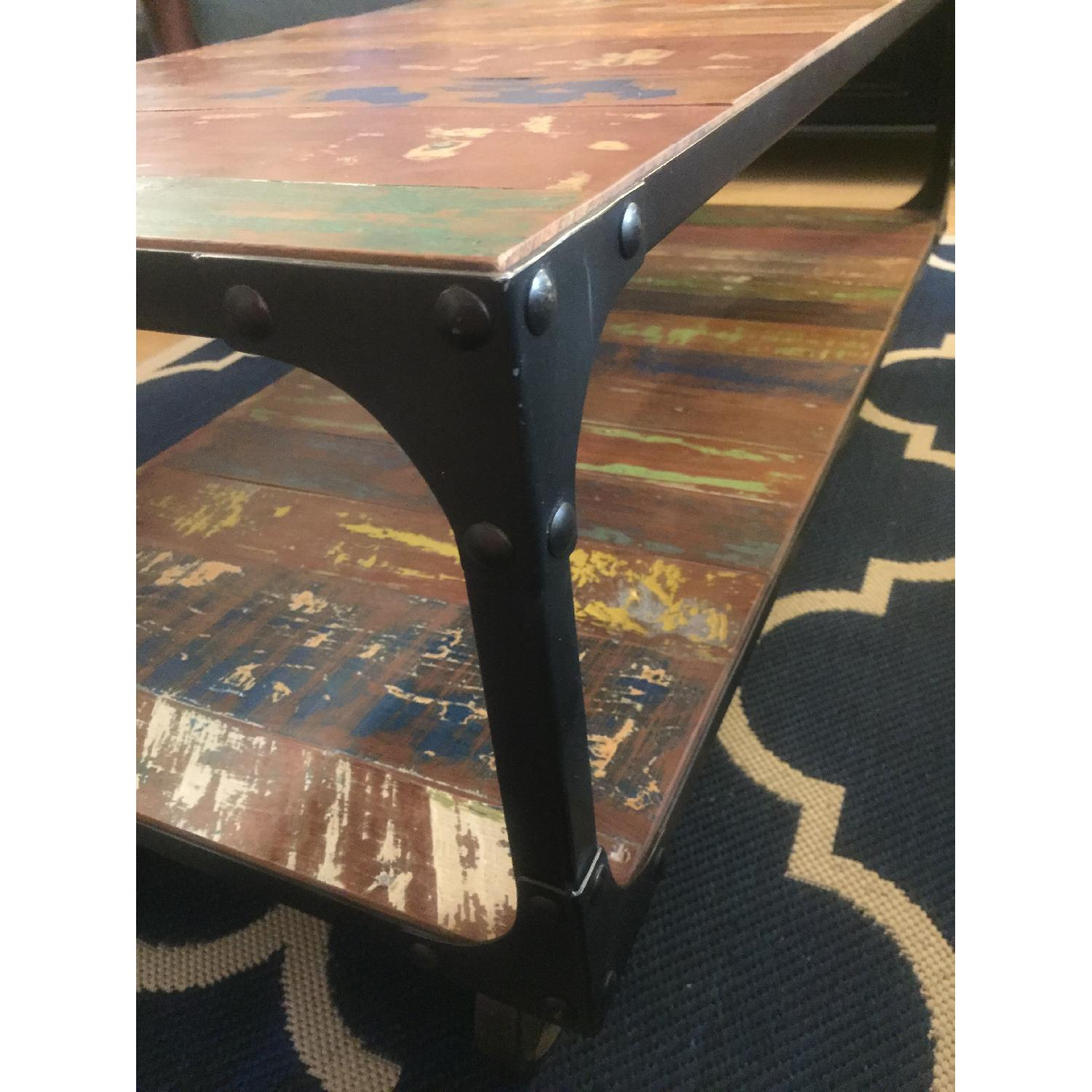 Sterling Place Wood/Iron Frame Coffee Table - image-13