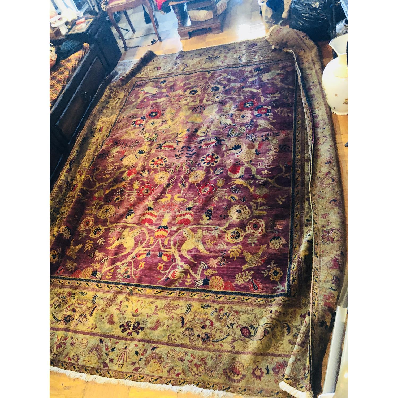 Gold & Purple Area Rug/Carpet - image-4
