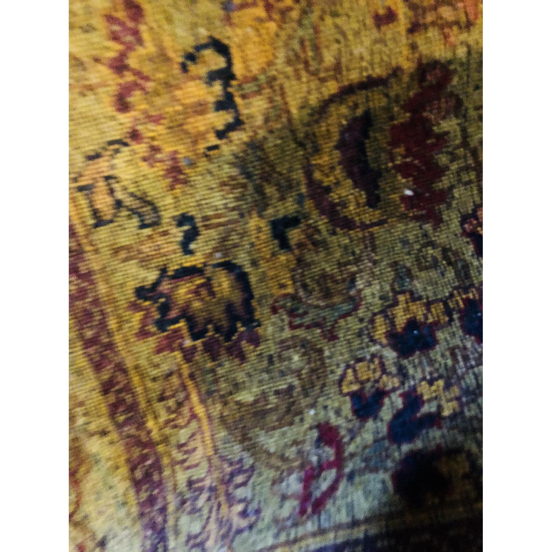 Gold & Purple Area Rug/Carpet - image-1
