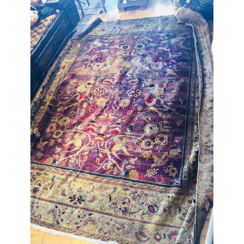 Gold & Purple Area Rug/Carpet - image-5