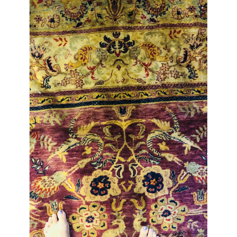 Gold & Purple Area Rug/Carpet - image-9