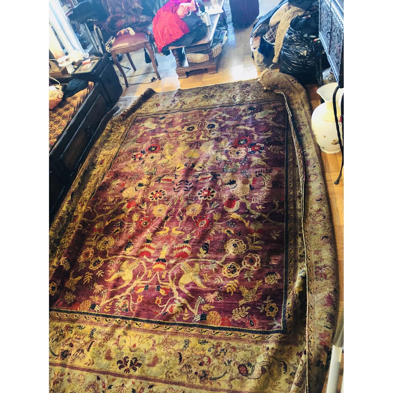 Gold & Purple Area Rug/Carpet - image-7
