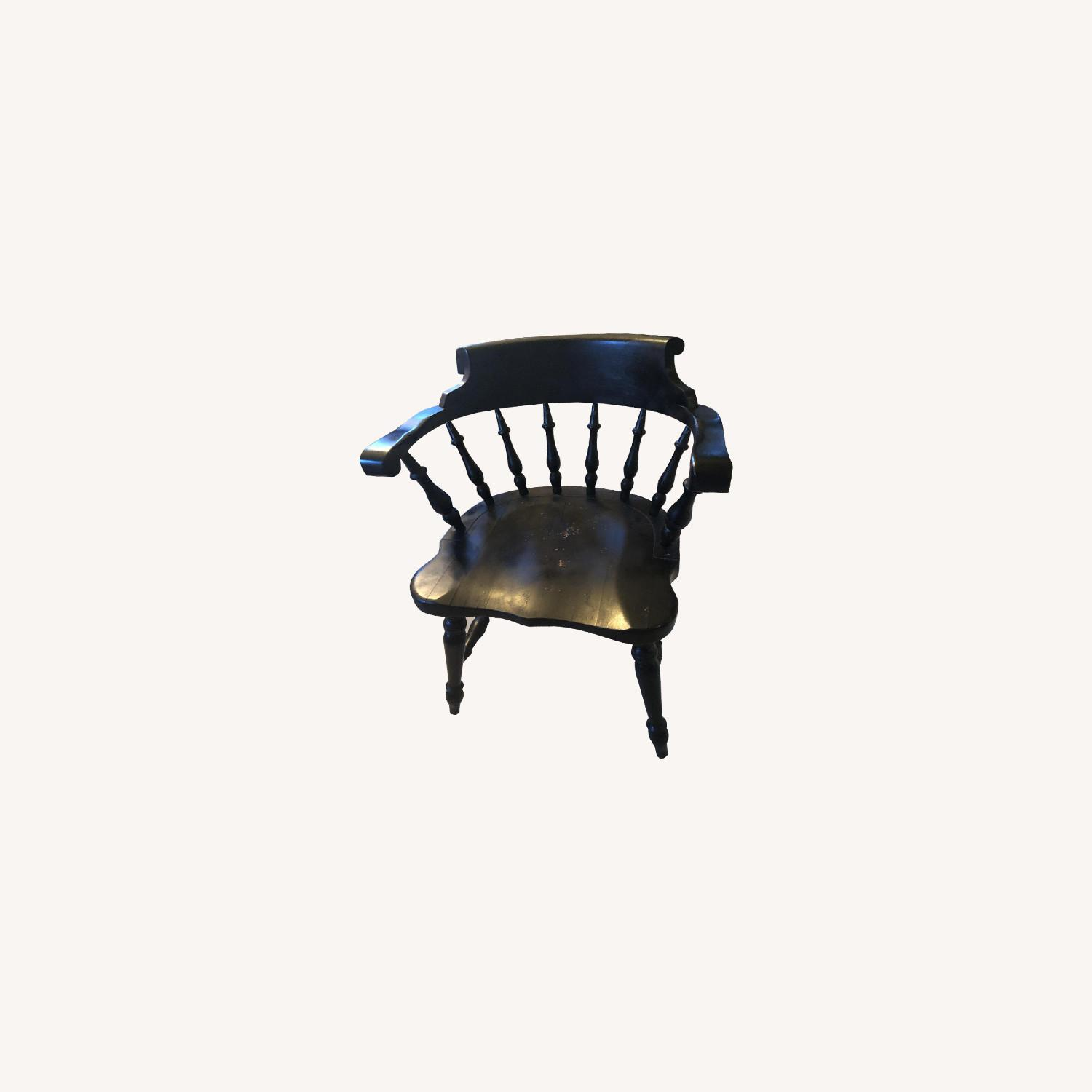 Vintage Wooden Chairs - image-0