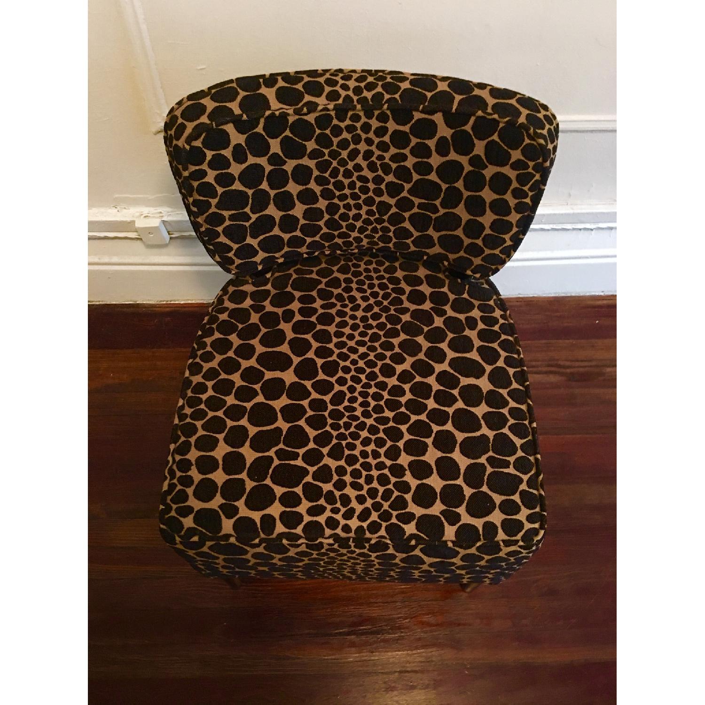 Vintage Leopard Accent Chair - image-2