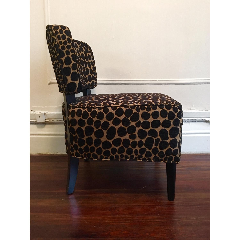 Vintage Leopard Accent Chair - image-3