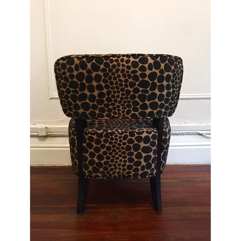 Vintage Leopard Accent Chair - image-4