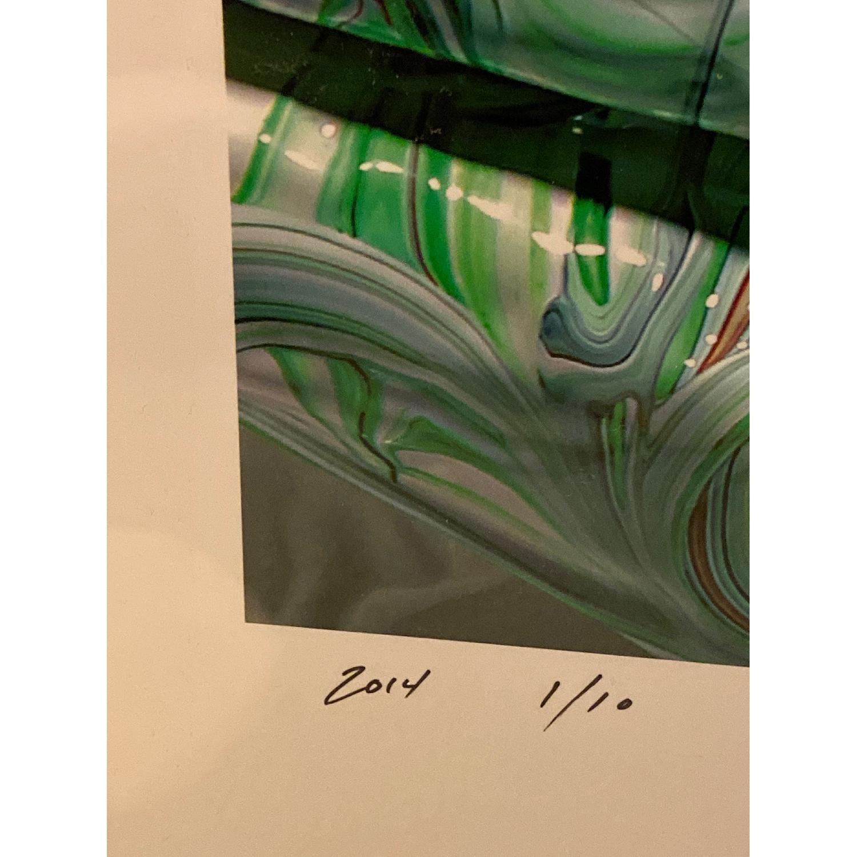 Original Abstract Mark Lovejoy Print - image-4