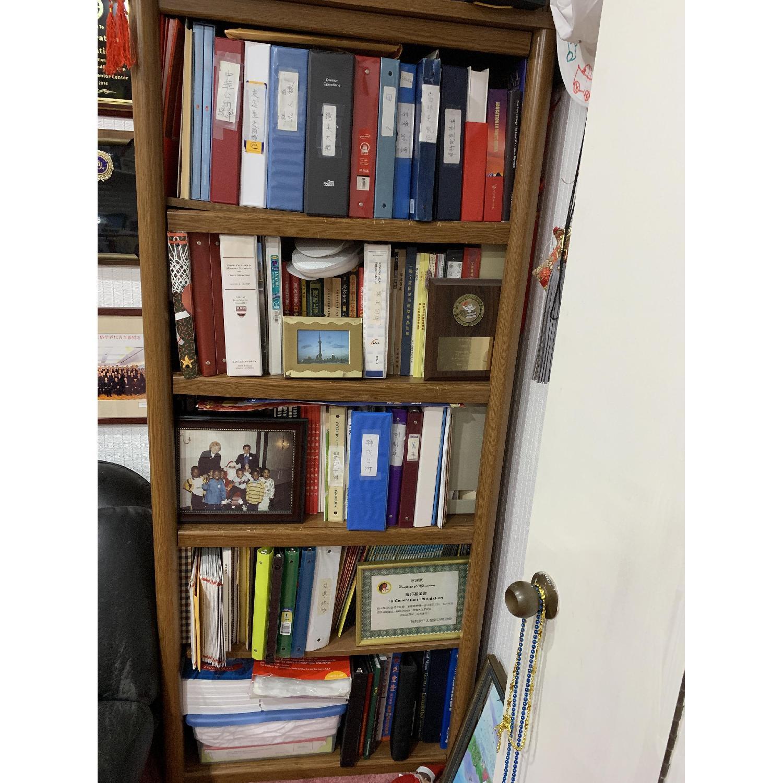 Wood Bookcase w/ 5 Shelves - image-3