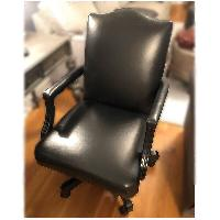 Ethan Allen Custom Leather Chair