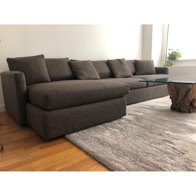 Crate & Barrel Lounge II 2-Piece Sectional Sofa - image-2