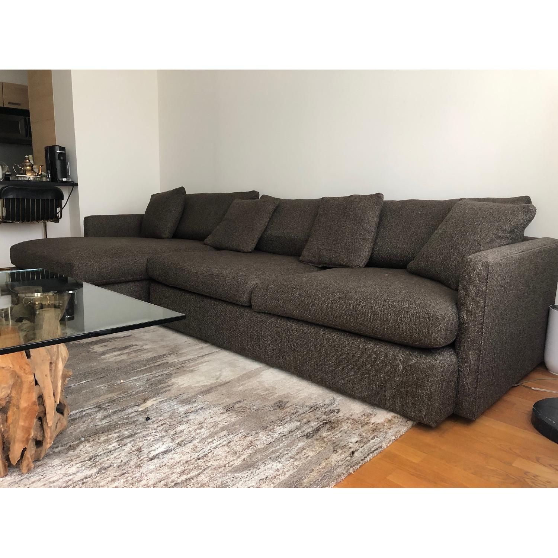Crate & Barrel Lounge II 2-Piece Sectional Sofa - image-3
