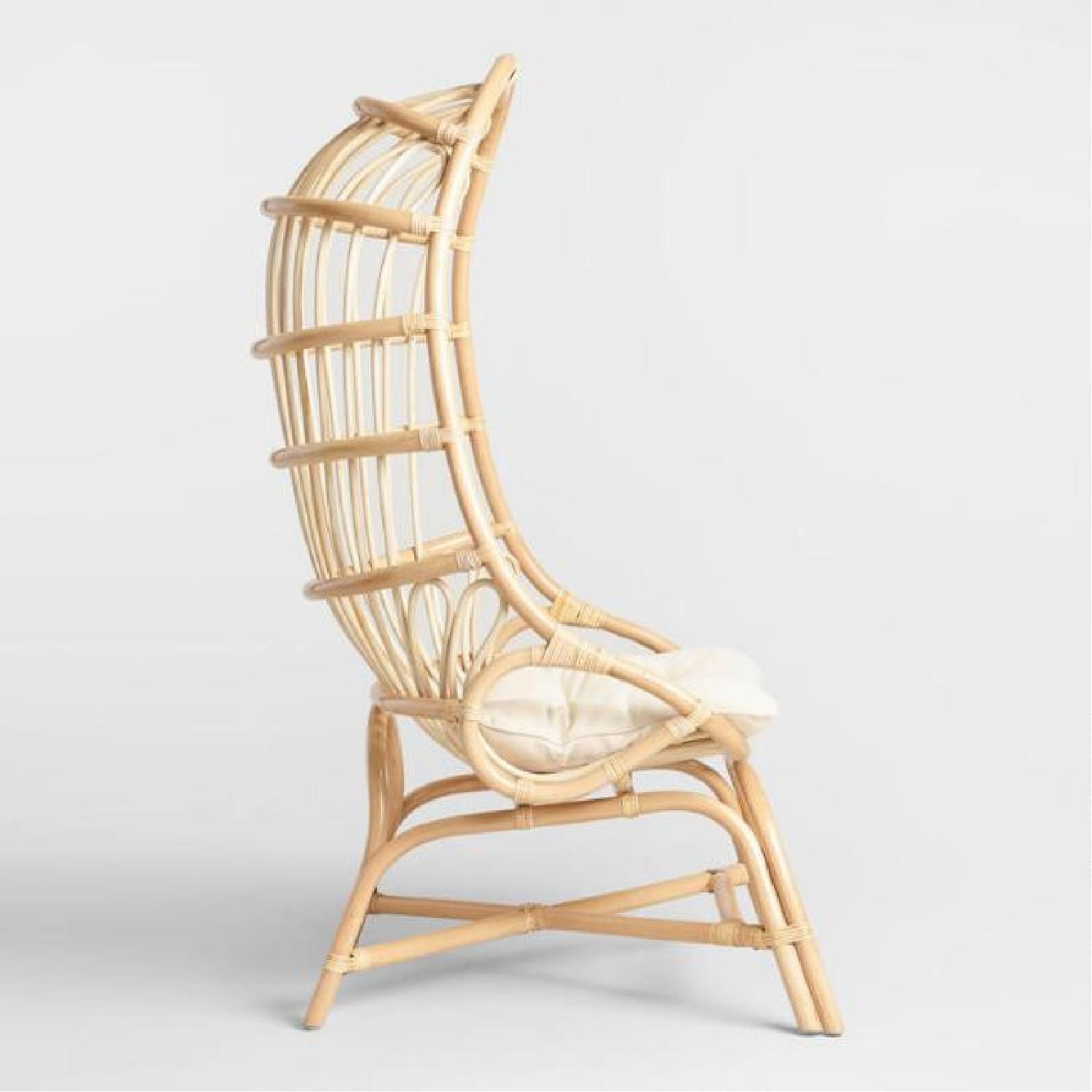 World Market Cocoon Chair - image-3