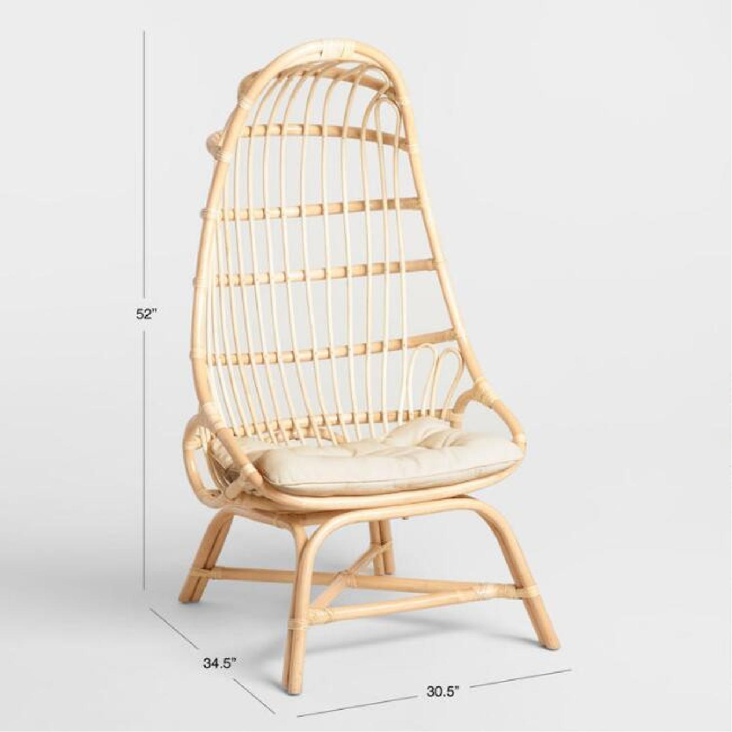 World Market Cocoon Chair - image-4