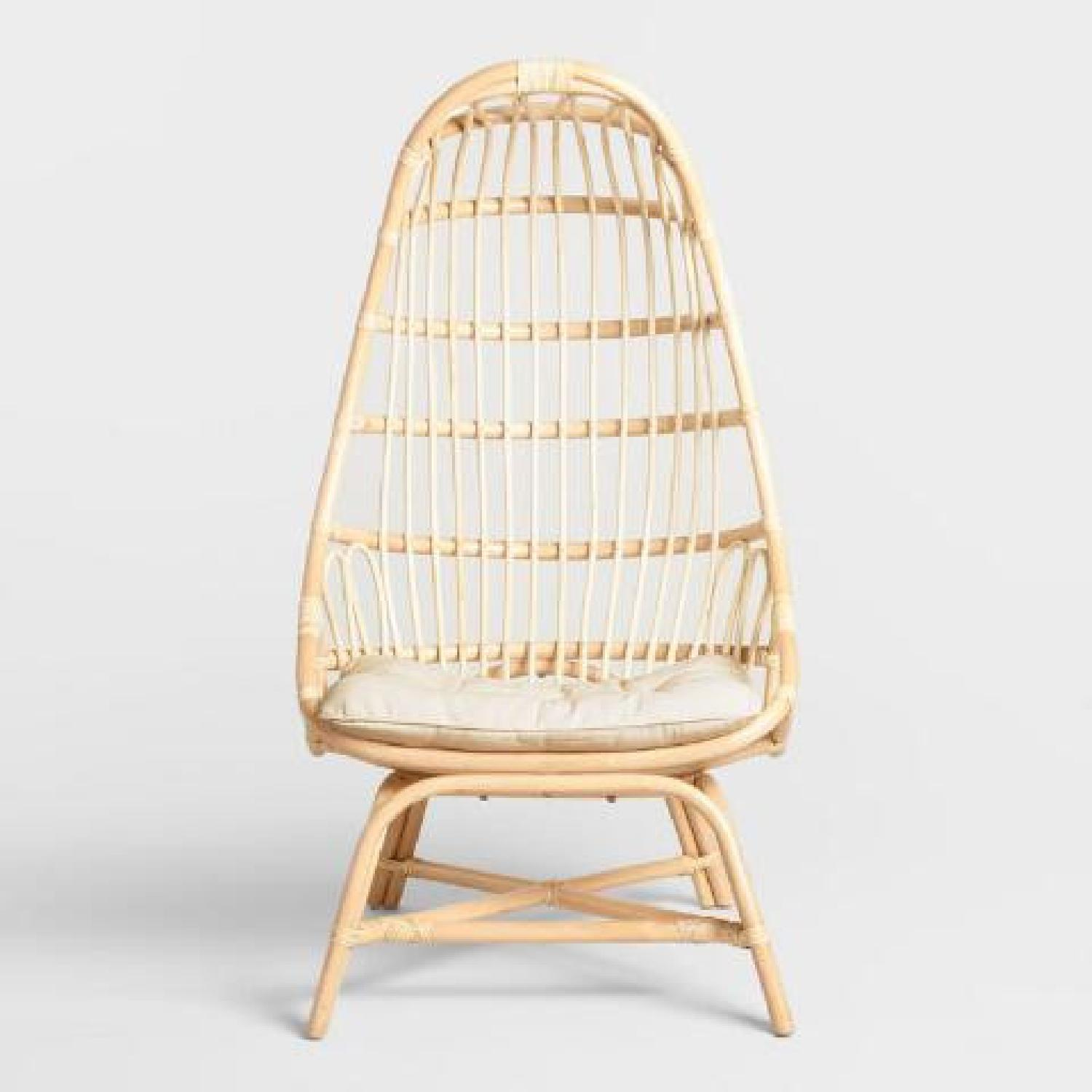 World Market Cocoon Chair - image-5