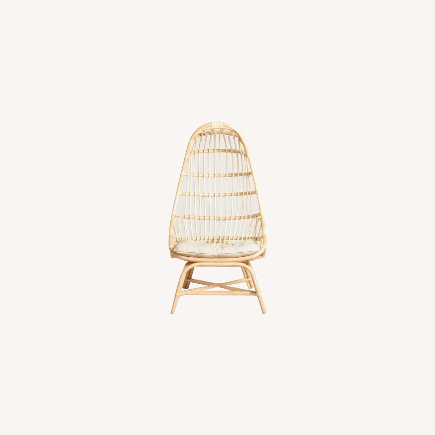 World Market Cocoon Chair - image-0