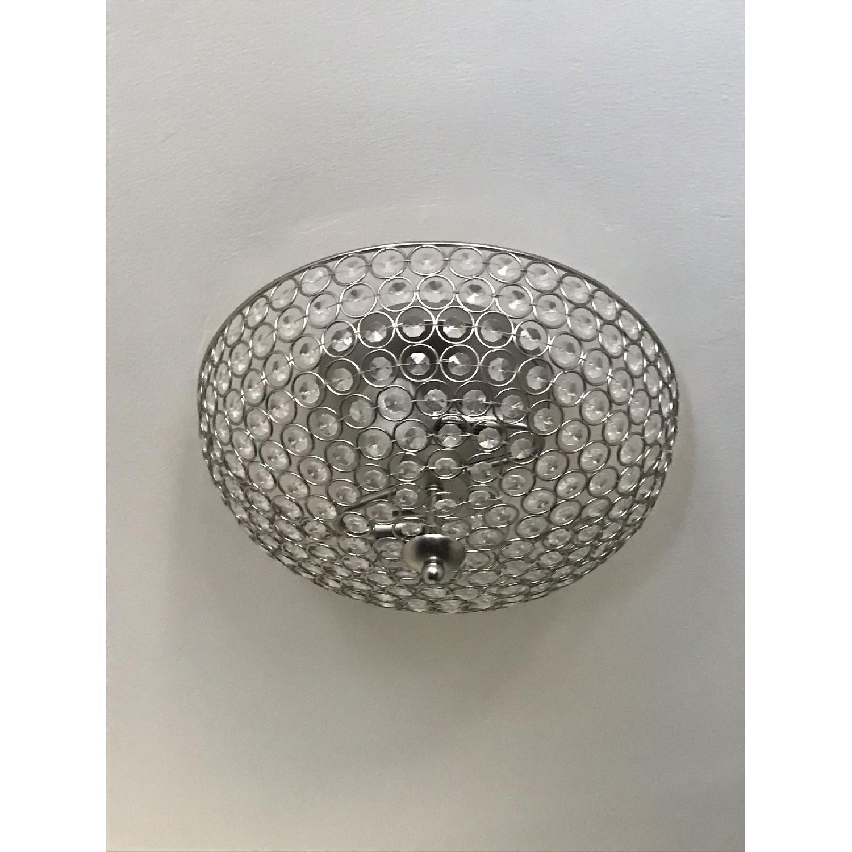 Pottery Barn Shimmer Flush Mount Lighting - image-3