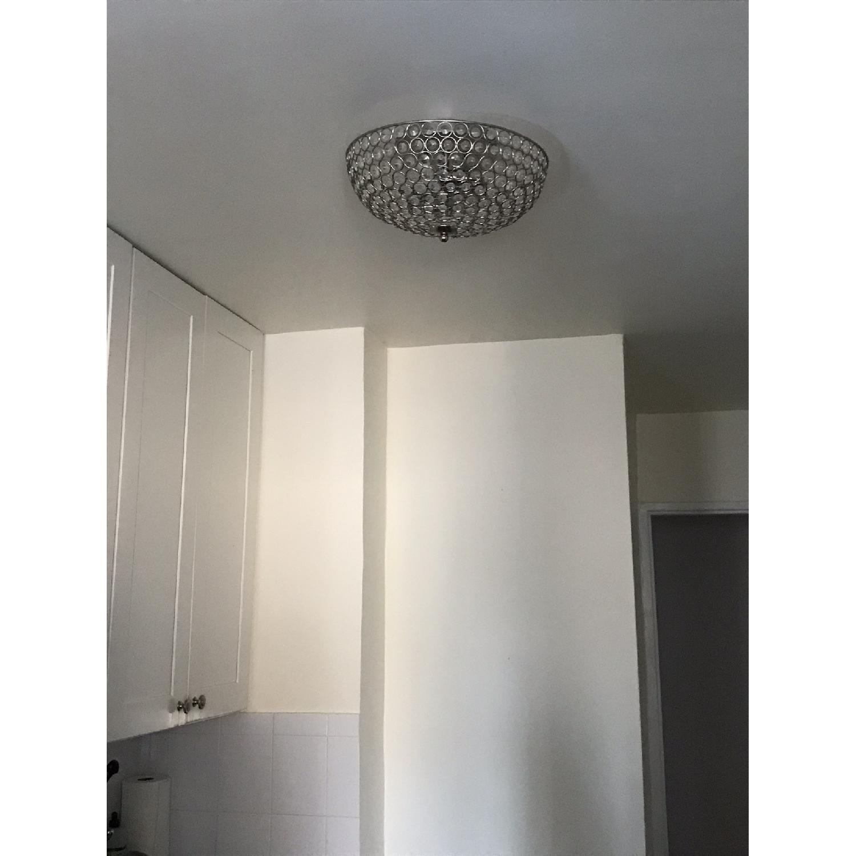 Pottery Barn Shimmer Flush Mount Lighting - image-2