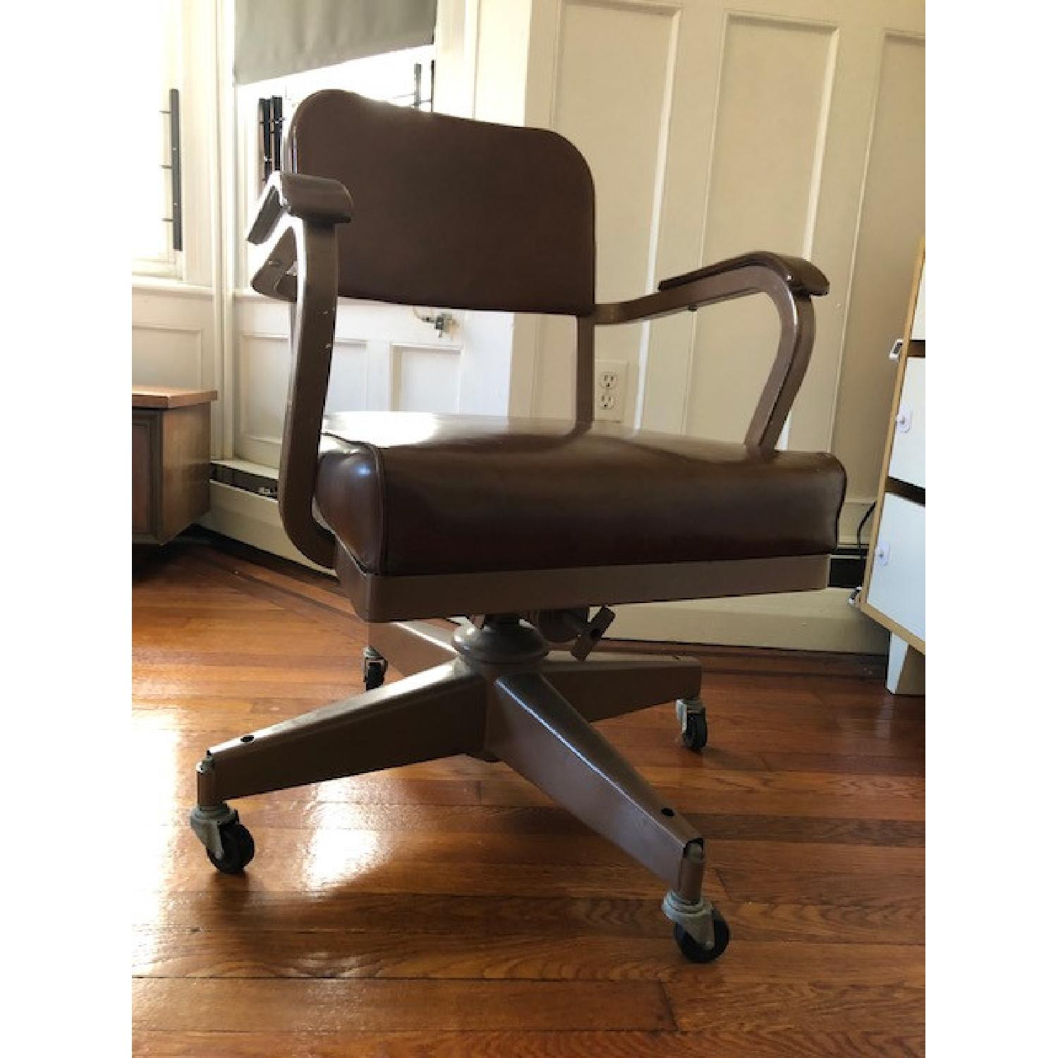 Mid-Century Industrial Office Chair - image-2