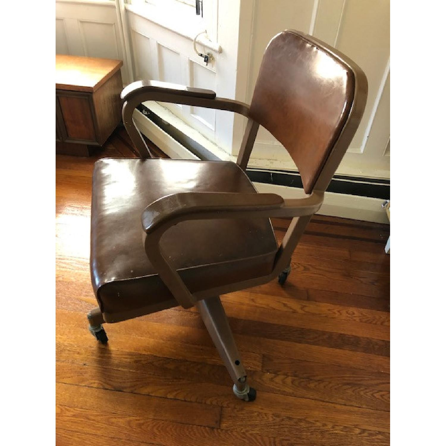 Mid-Century Industrial Office Chair - image-3