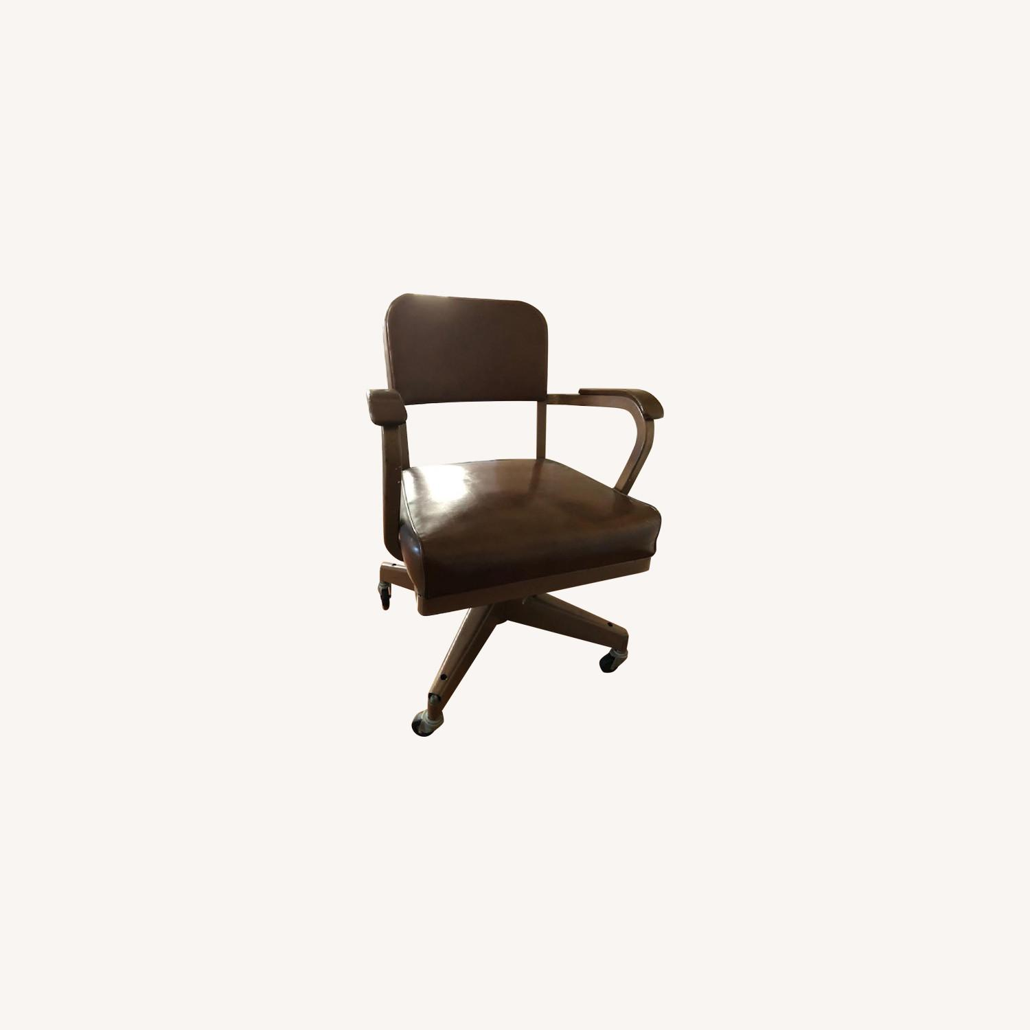 Mid-Century Industrial Office Chair - image-0