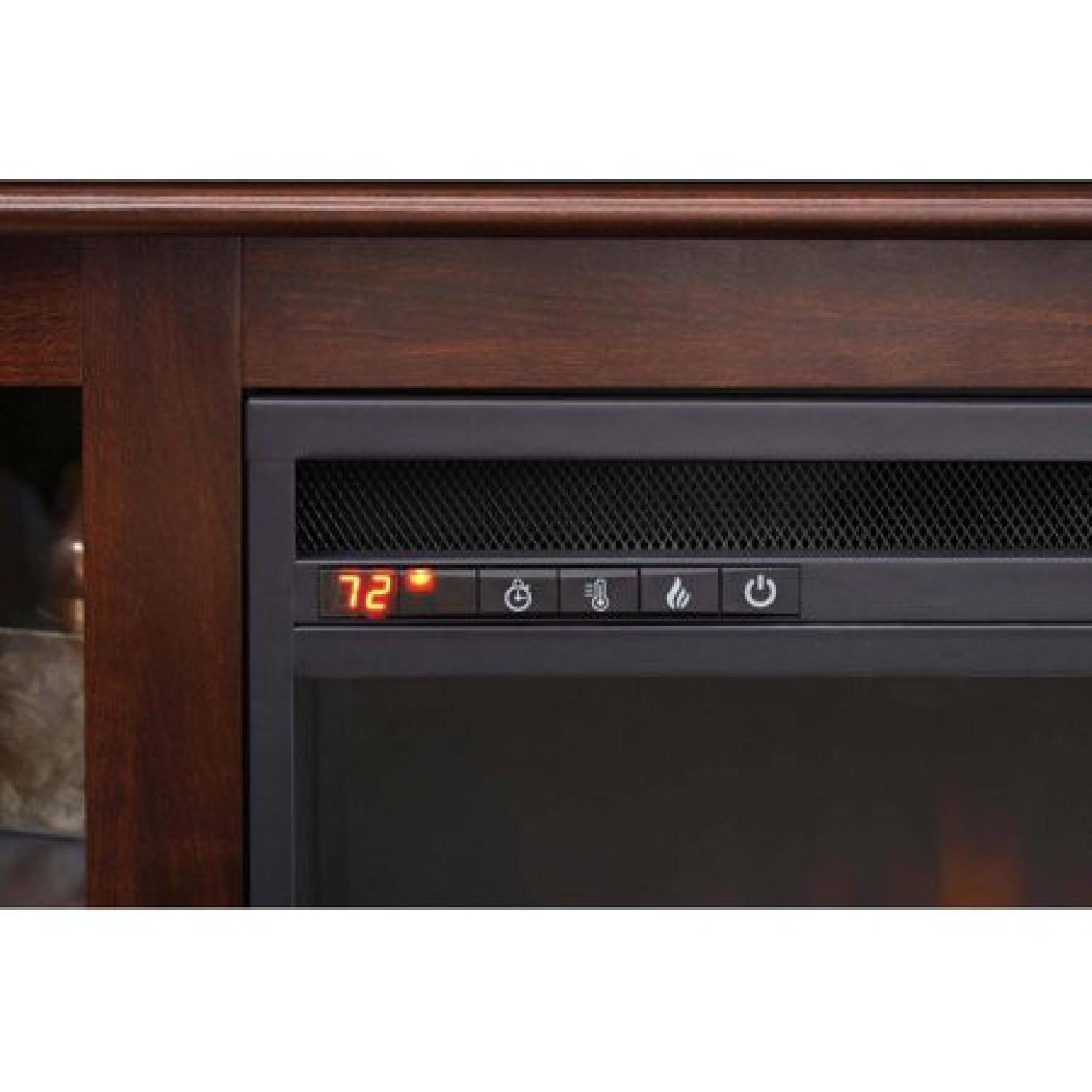 Better Homes & Gardens Media Console w/ Fireplace - image-2
