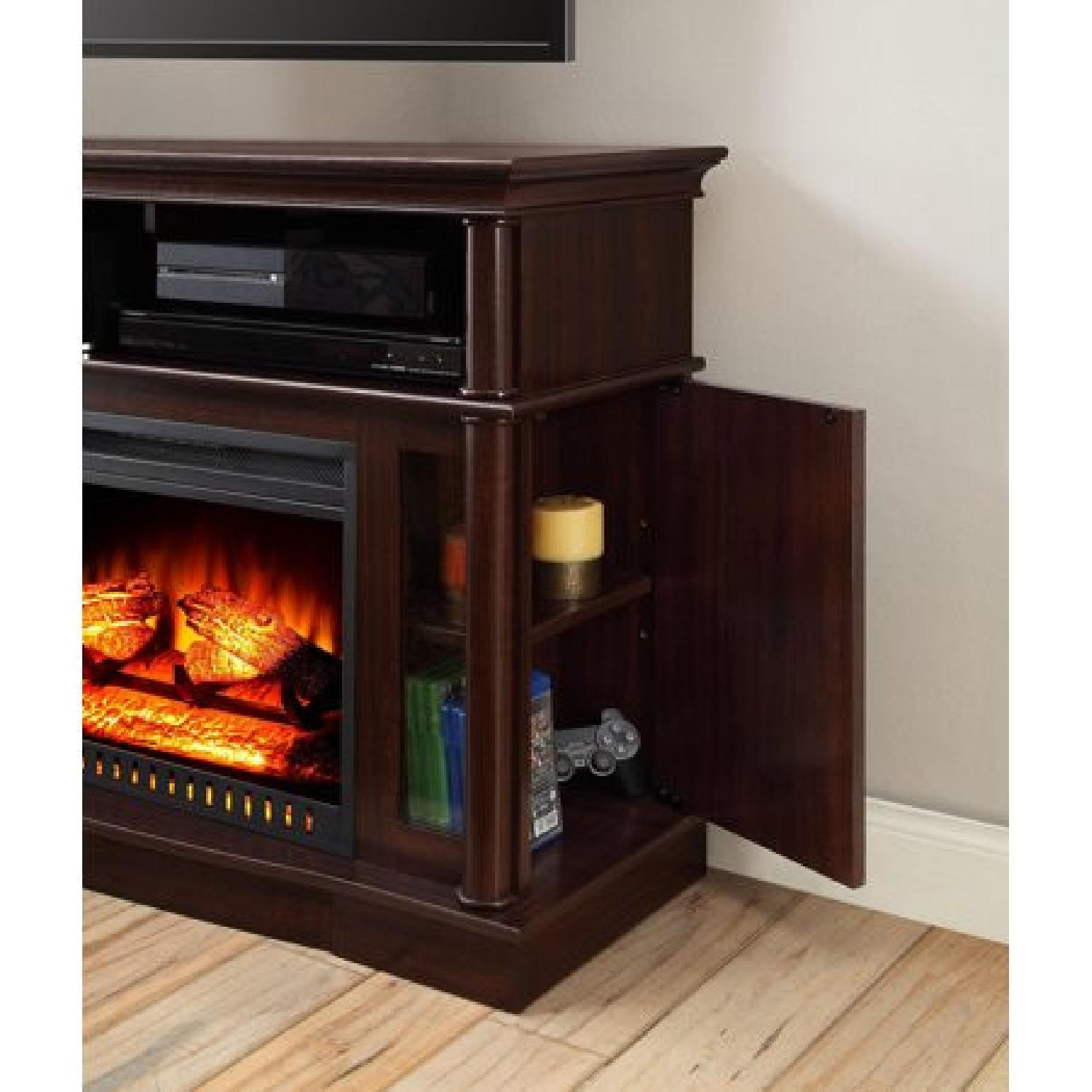 Better Homes & Gardens Media Console w/ Fireplace - image-3