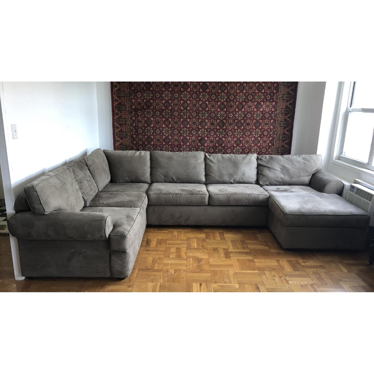 Jennifer Convertible Milfor 3-Piece Sectional Sofa - image-1