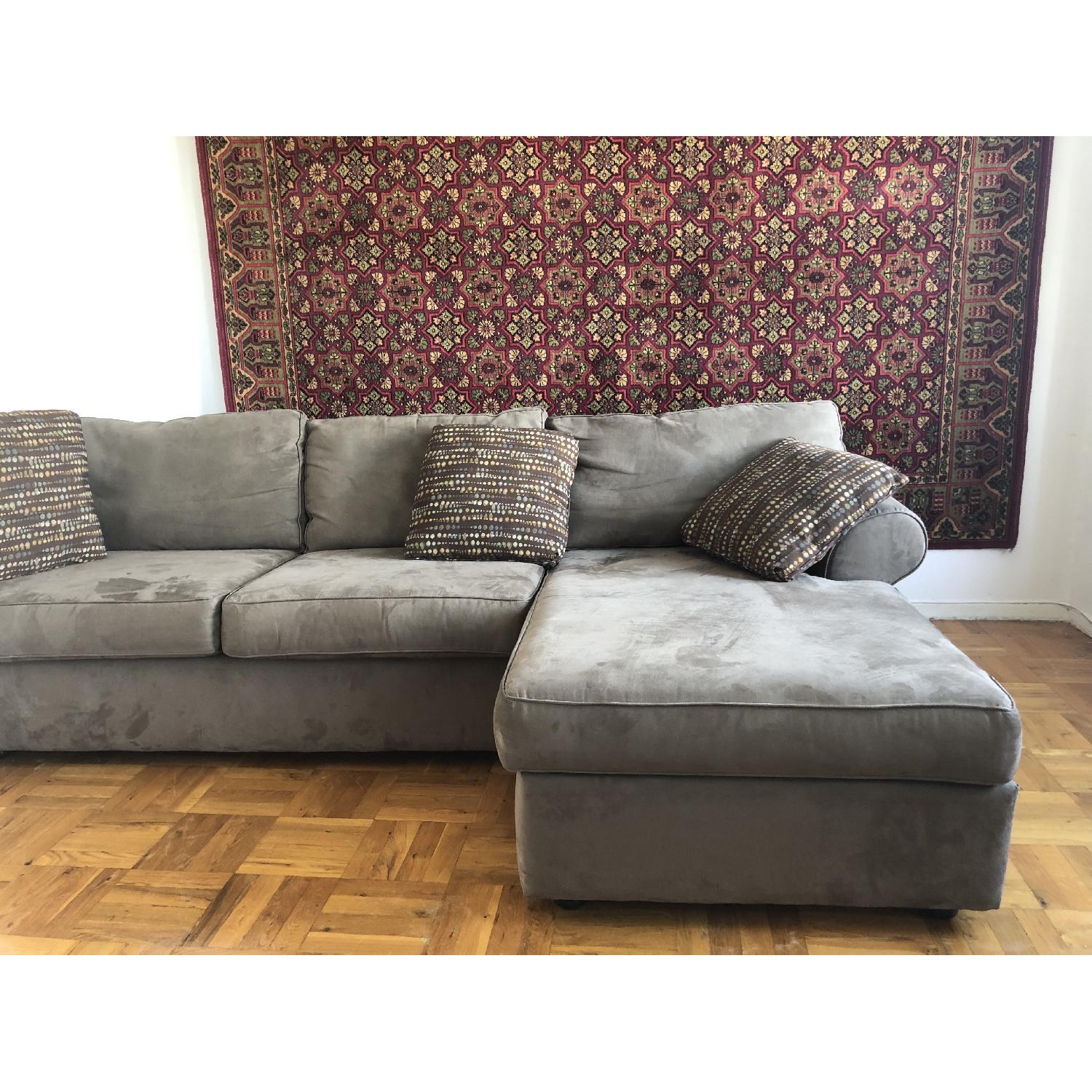 Jennifer Convertible Milfor 3-Piece Sectional Sofa - image-5