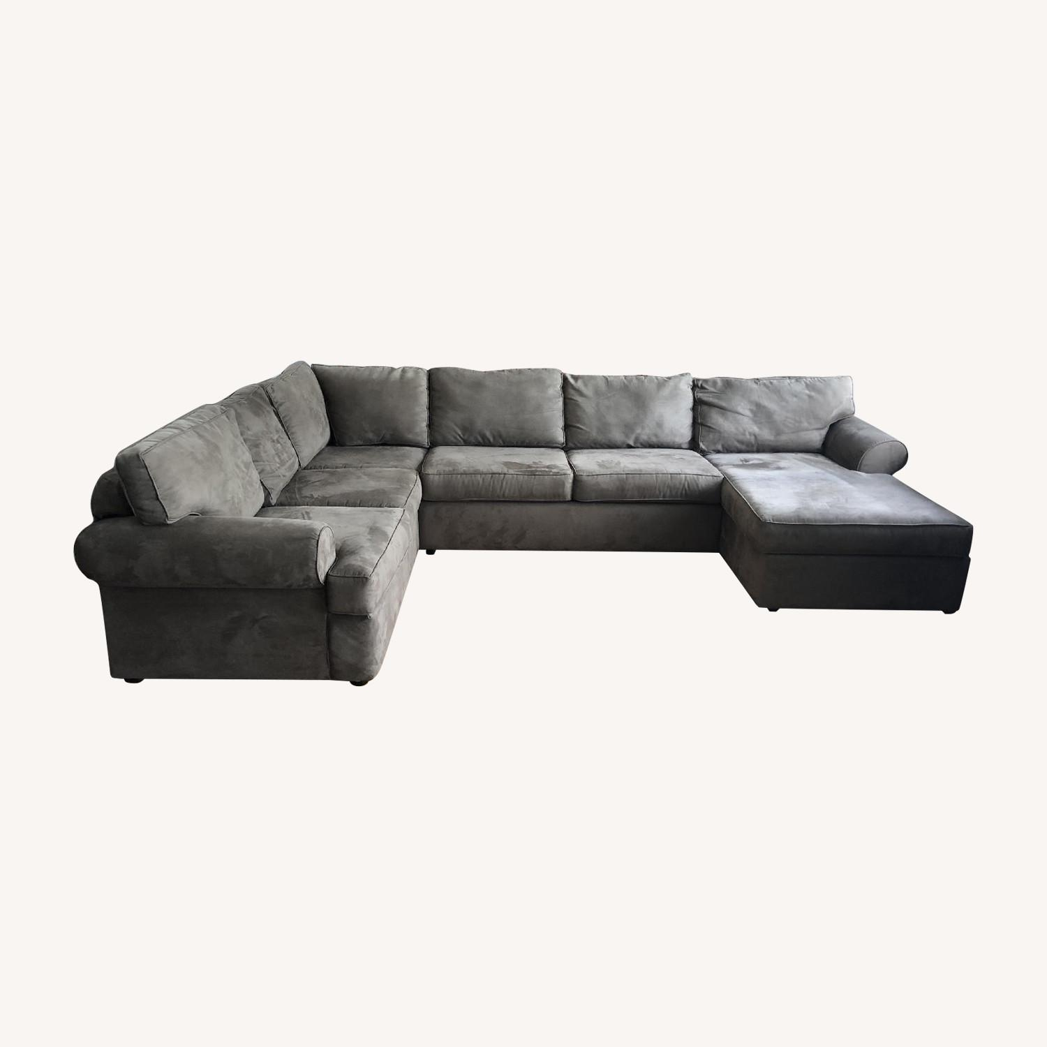Jennifer Convertible Milfor 3-Piece Sectional Sofa - image-0