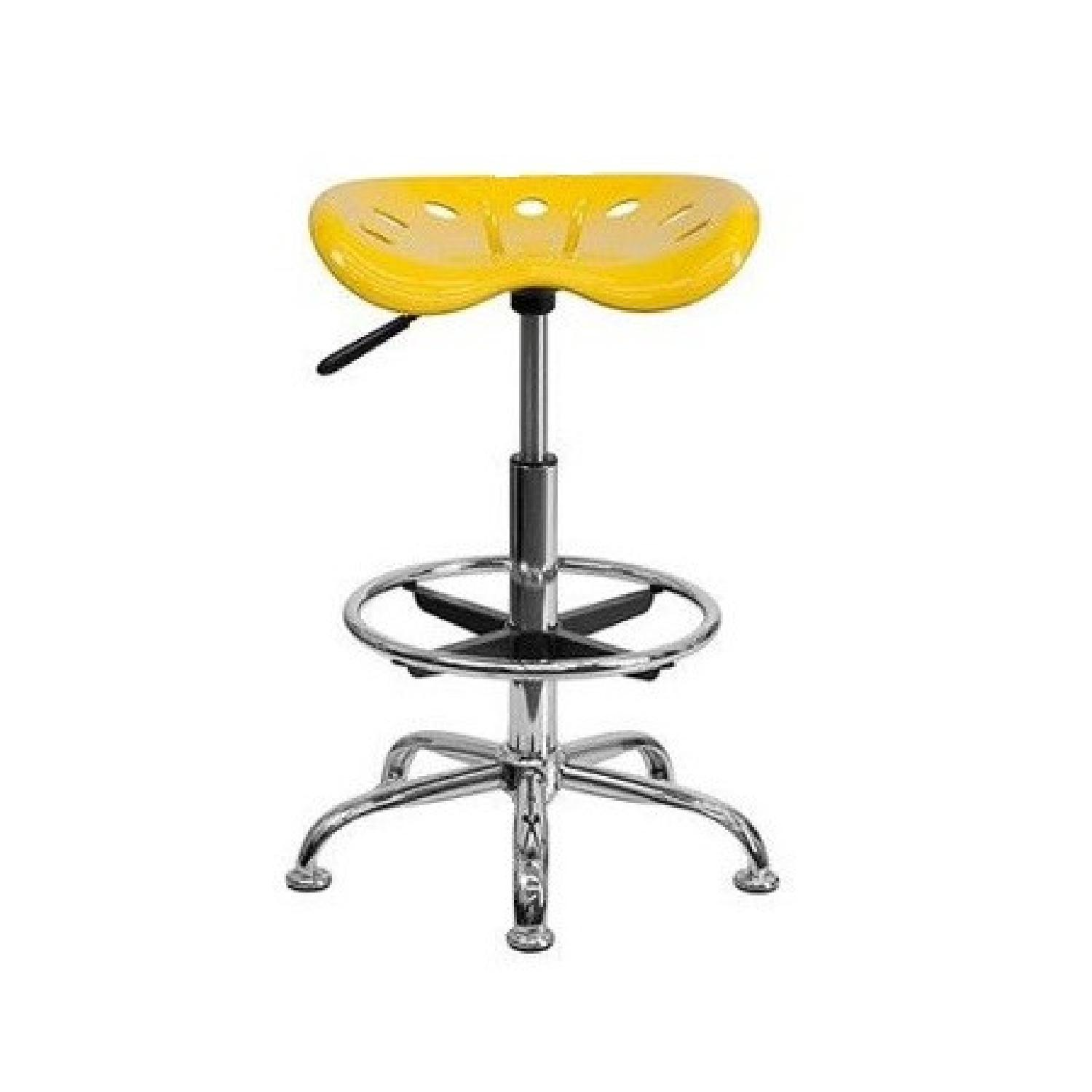 Globe House Height Adjustable Drafting Stool w/ Swivel Seat - image-0