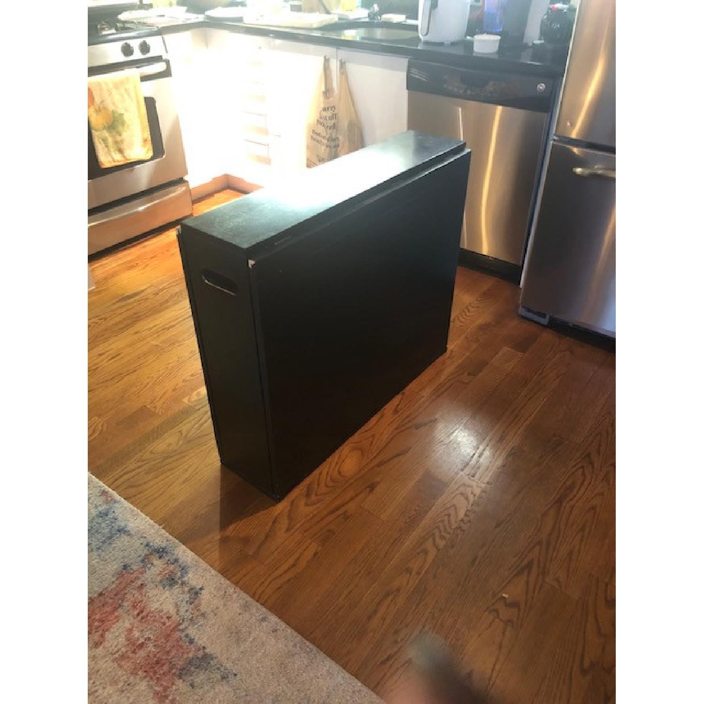 Crate & Barrel Span Folding Table - image-1