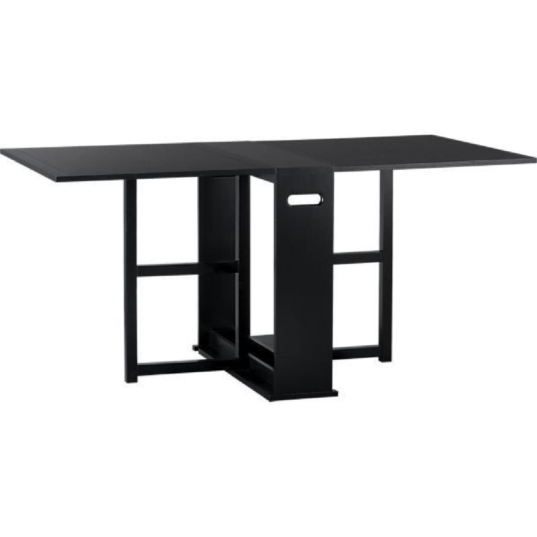 Crate & Barrel Span Folding Table - image-0