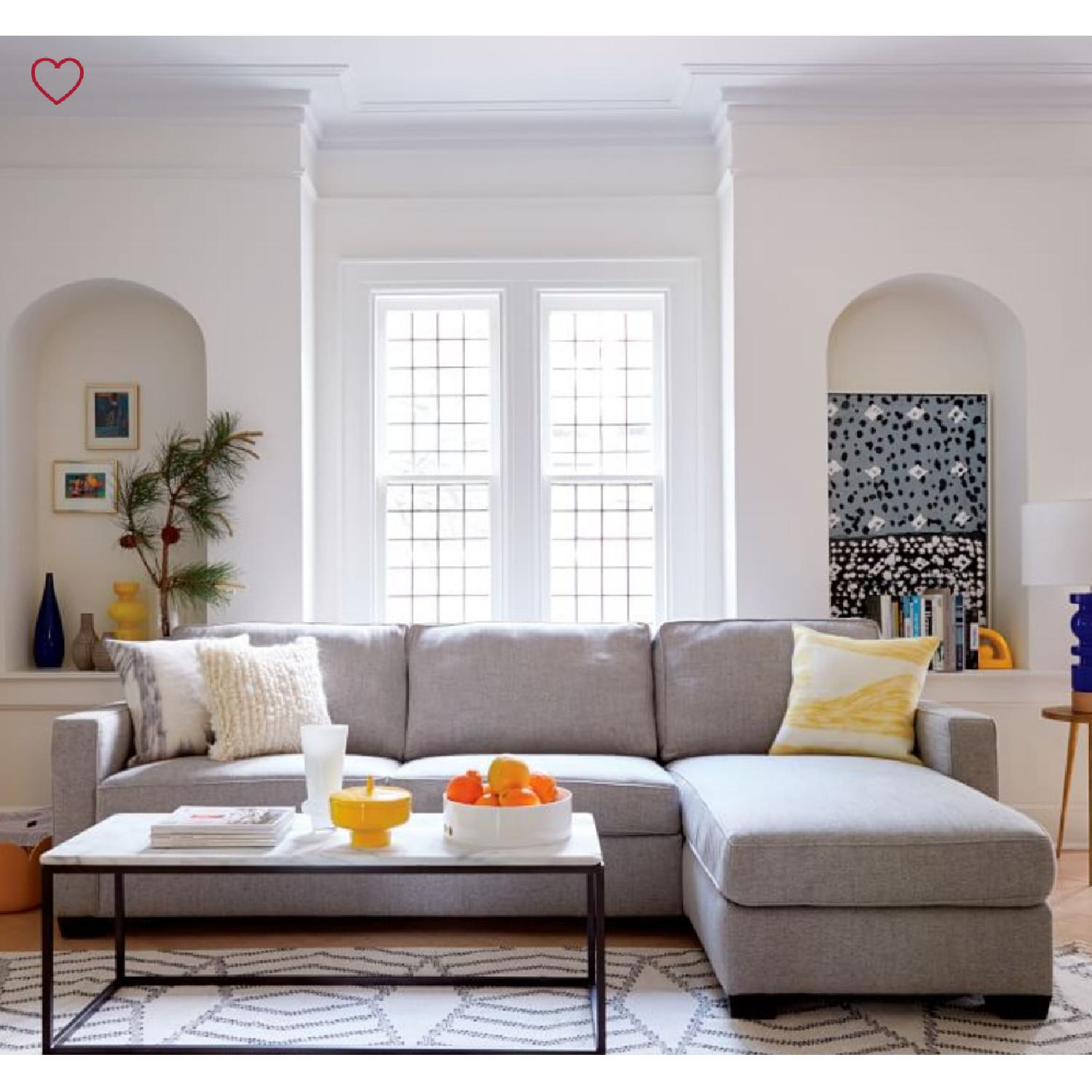 West Elm Henry 2-Piece Chaise Sectional Sofa - image-4
