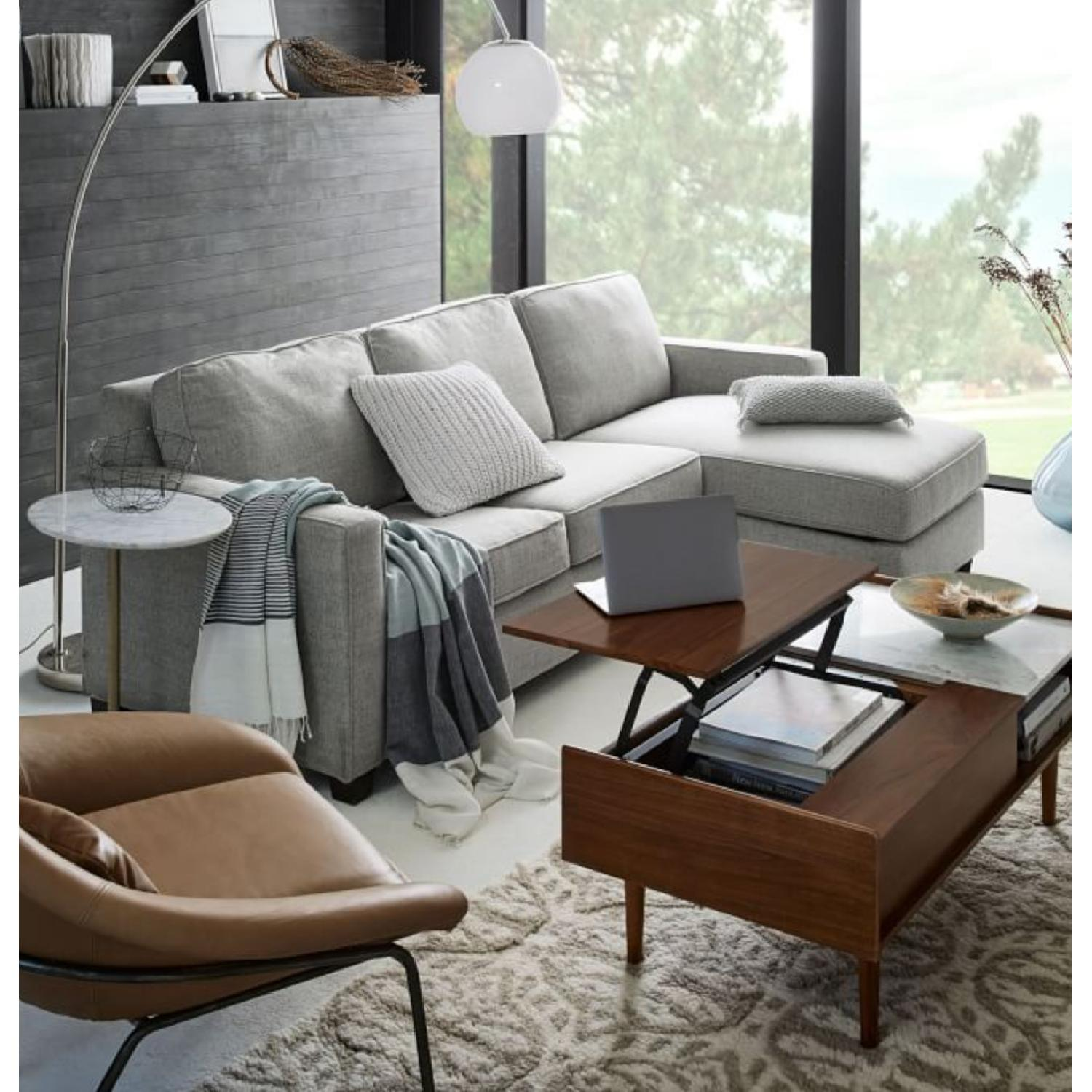 West Elm Henry 2-Piece Chaise Sectional Sofa - image-5