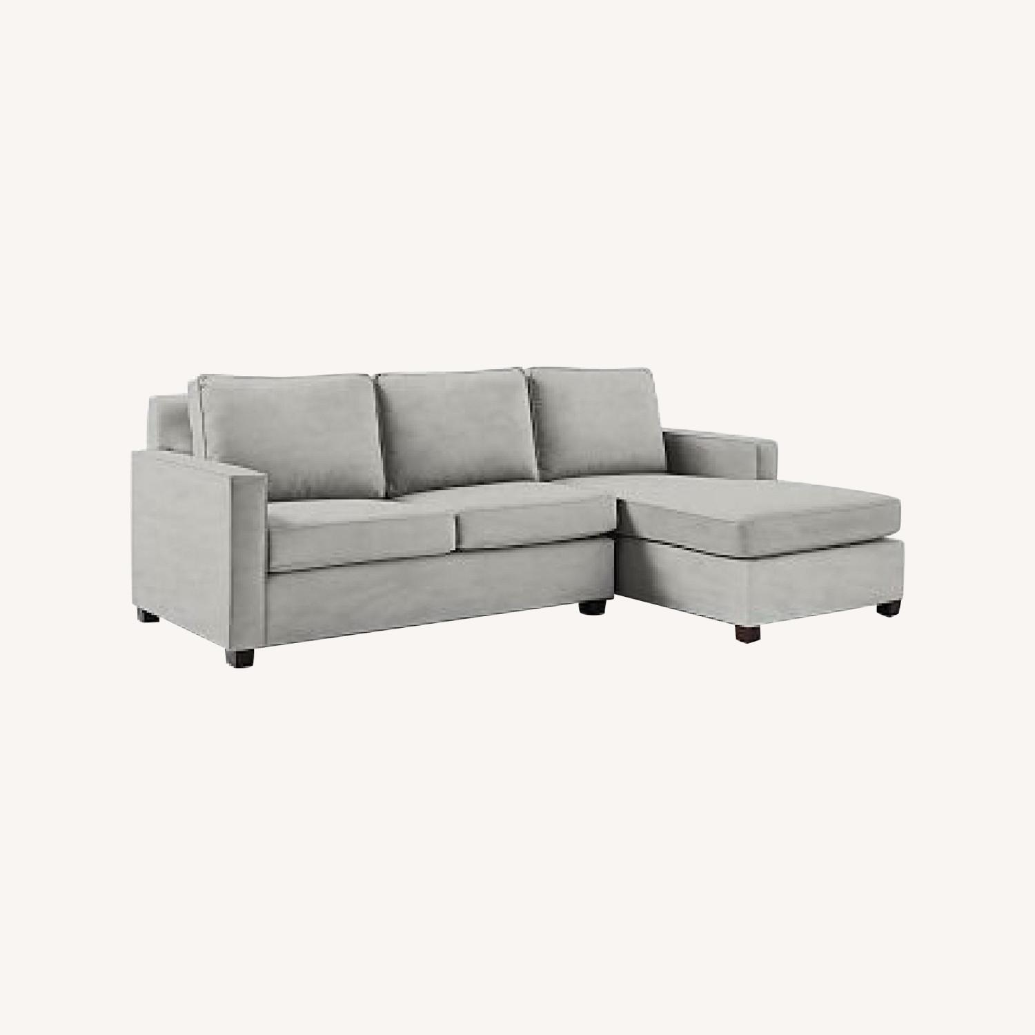 West Elm Henry 2-Piece Chaise Sectional Sofa - image-0