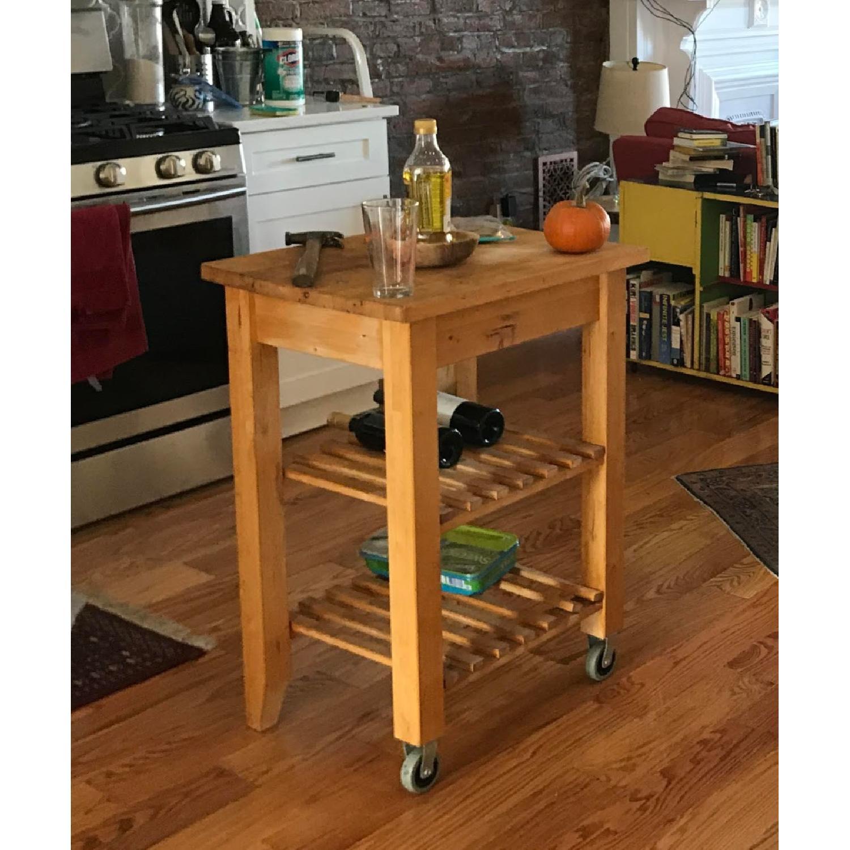 Ikea Bekvam Side Table/Kitchen Cart - image-2