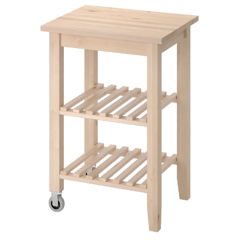 Ikea Bekvam Side Table/Kitchen Cart - image-0