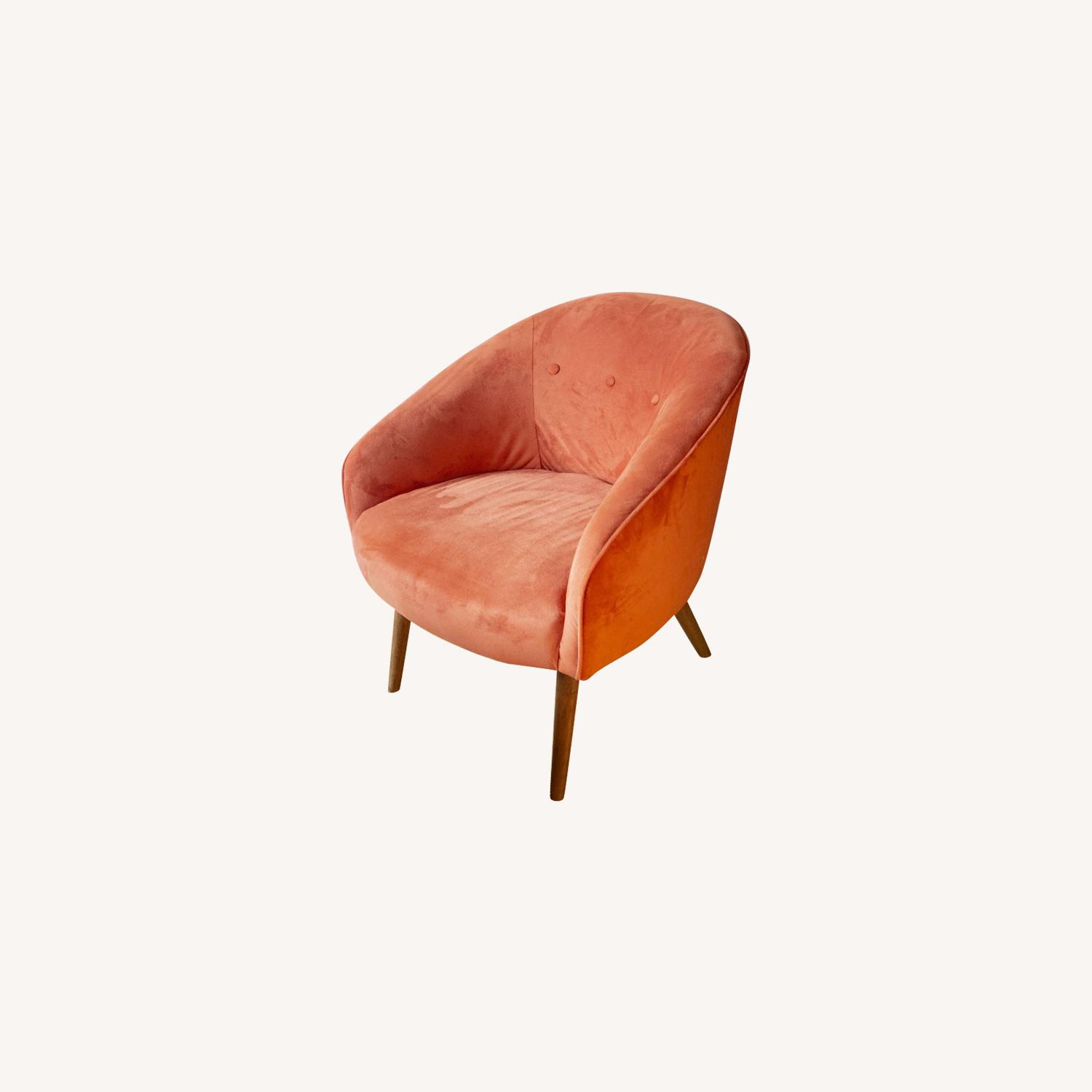 West Elm Mid-Century Modern Accent Chair - image-0