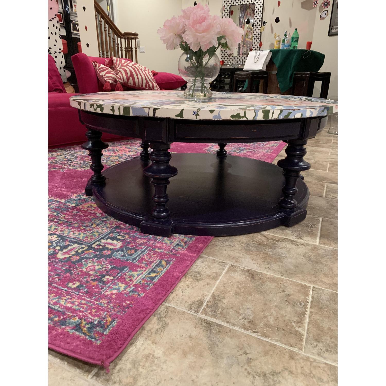 Ralph Lauren Coffee Table w/ Shelf - image-3