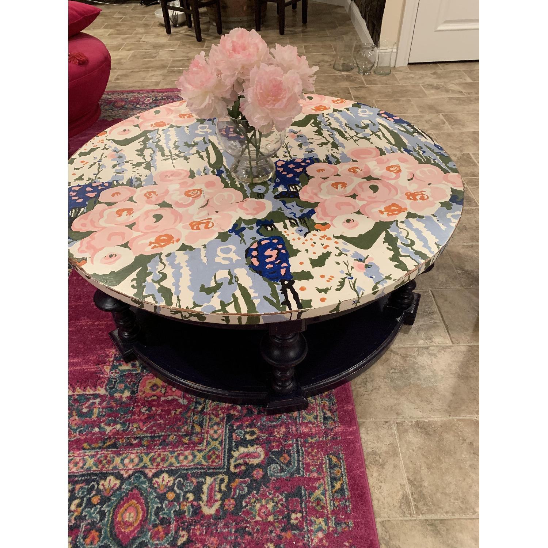 Ralph Lauren Coffee Table w/ Shelf - image-2