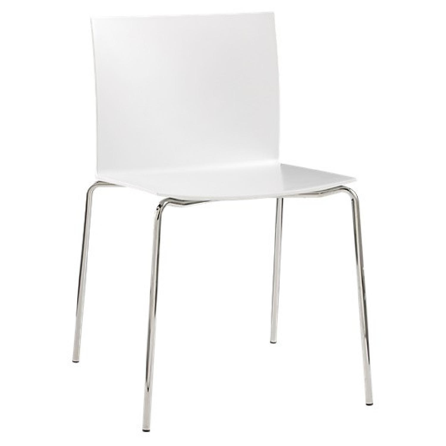 CB2 Stackable Slim Dining Chairs - image-0