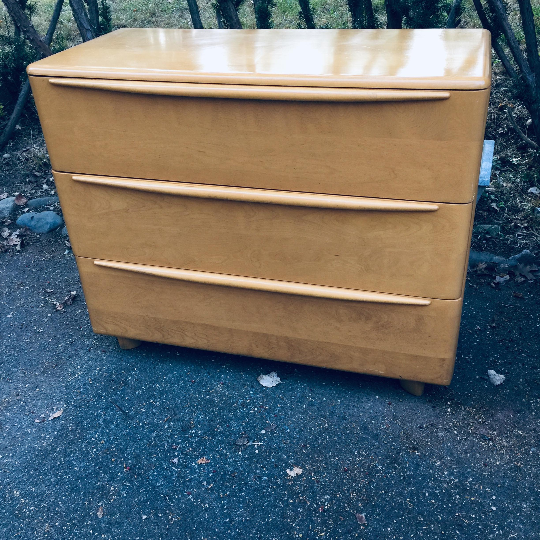 Heywood Wakefield Vintage Art Deco Dresser