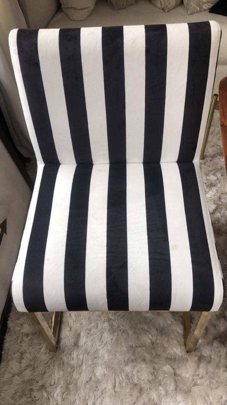 TOV Haute Velvet Dining Chair.