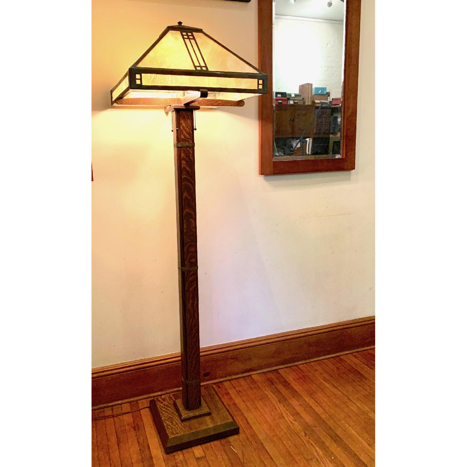 Arroyo Craftsman Arts & Crafts Floor lamp - image-1