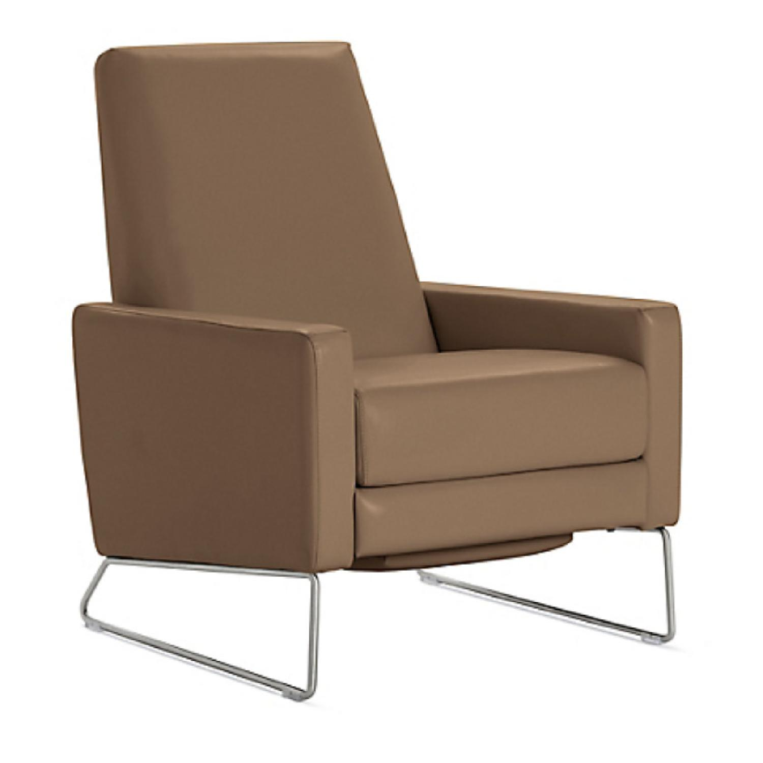 Design Within Reach Flight Recliner in Vienna Clay Leather - image-0