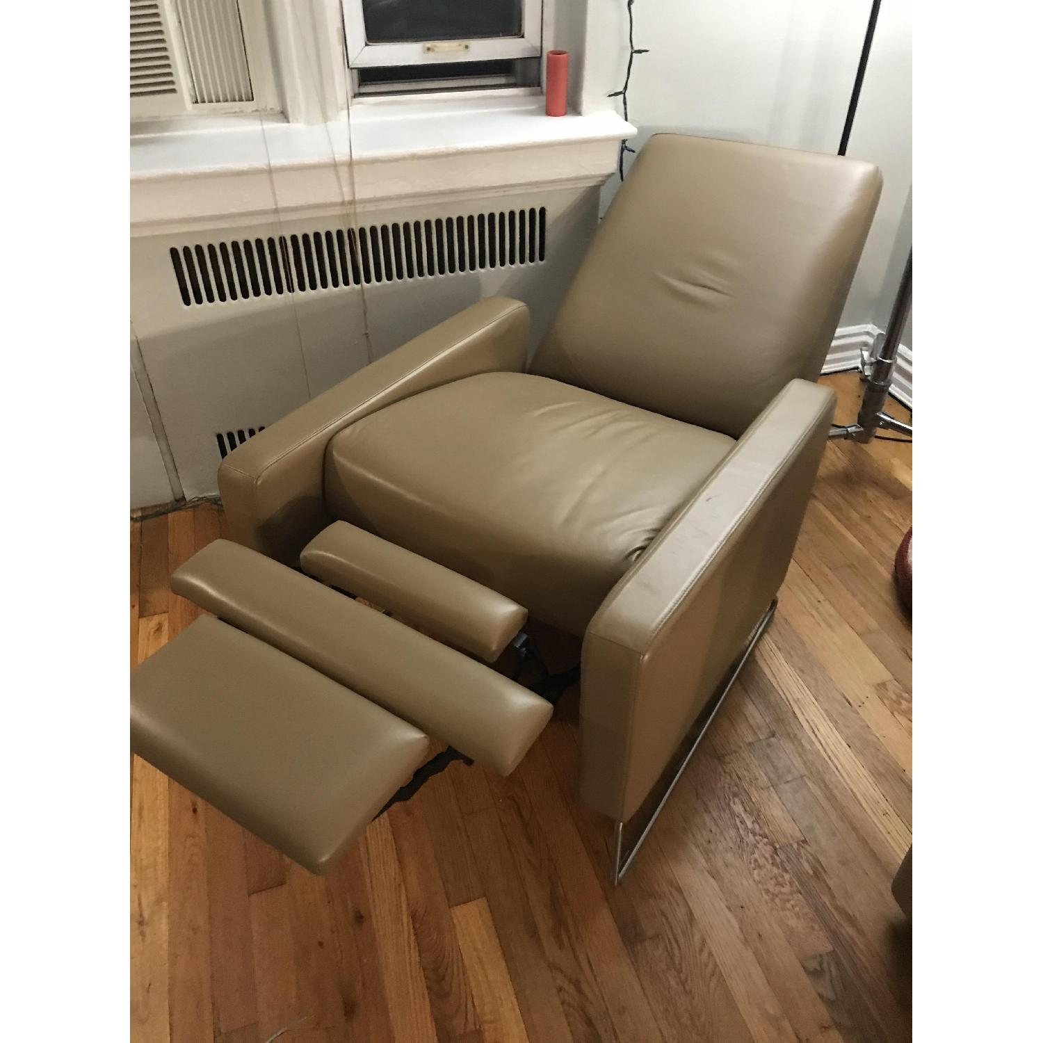 Design Within Reach Flight Recliner in Vienna Clay Leather - image-1