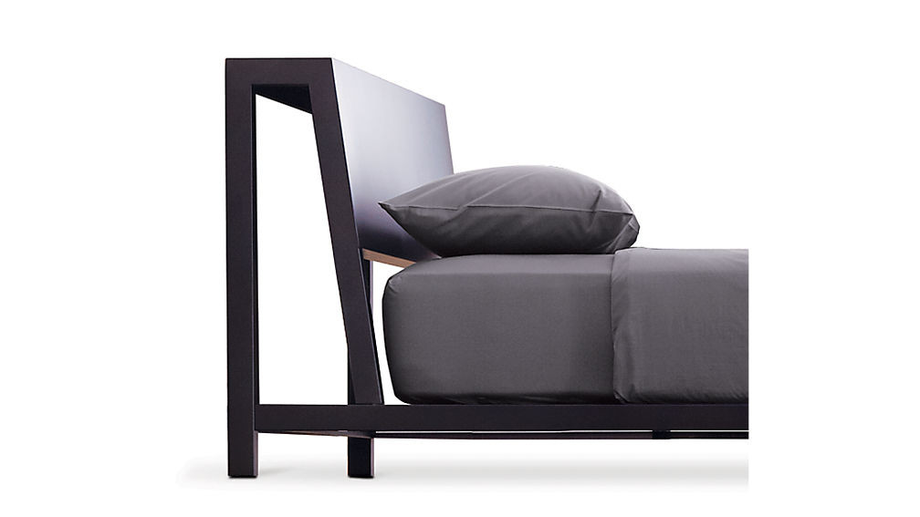 CB2 Alpine Steel Queen Bed
