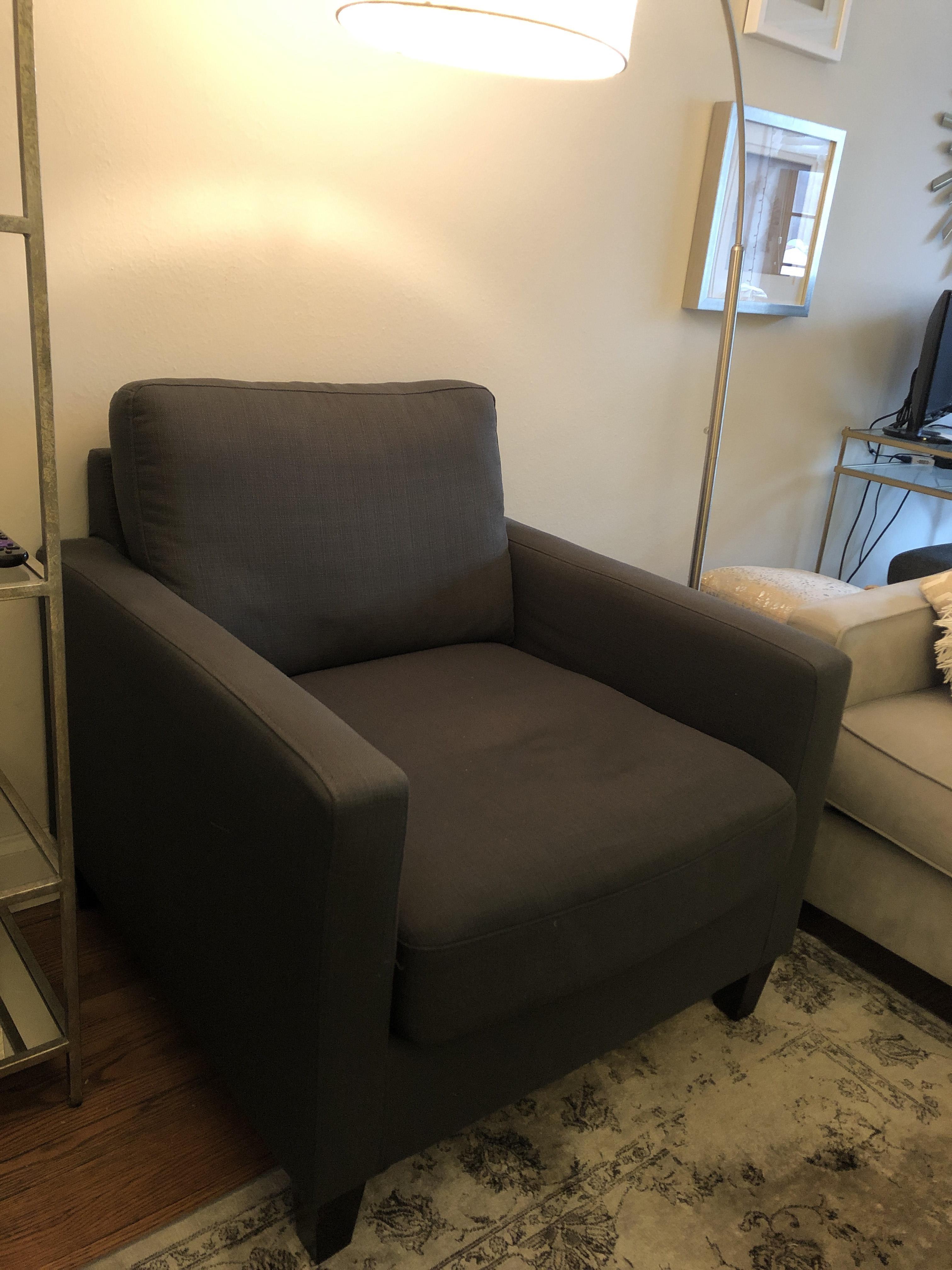 World Market Dolphin Abbott Arm Chair